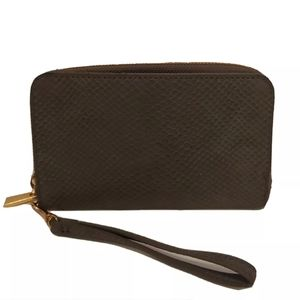 A New day gray wallet wristlet New condition